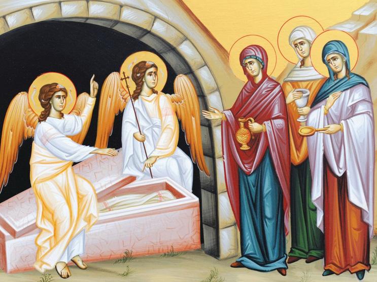 Κυριακή των Μυροφόρων - Χριστιανική Φοιτητική Δράση